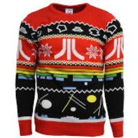 Atari Christmas Jumper - Red - XS - Red - Christmas Jumper Gifts