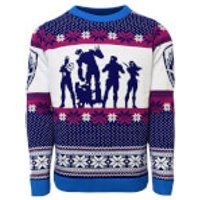 Guardians of the Galaxy Christmas Jumper - Blue - XL - Blue - Guardians Of The Galaxy Gifts