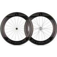 Reynolds 80 Aero Carbon Clincher Disc Brake Wheelset 2019 - Shimano/SRAM - Black