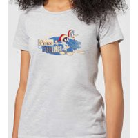 Looney Tunes Peace Among Earthlings Women's Christmas T-Shirt - Grey - S - Grey