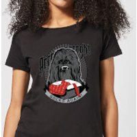 Star Wars Chewbacca Arrrrgh Socks Again Women's Christmas T-Shirt - Black - XL - Black