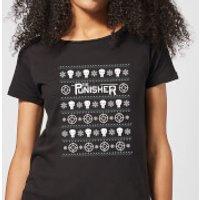 Marvel Punisher Women's Christmas T-Shirt - Black - XL - Black