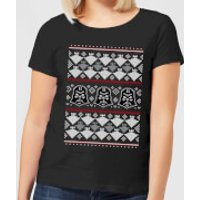 Star Wars Imperial Darth Vader Women's Christmas T-Shirt - Black - XS - Black