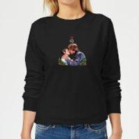 Star Wars Mistletoe Kiss Women's Christmas Sweatshirt - Black - M - Black