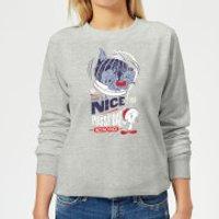 Looney Tunes Tweety Pie Pussy Cat Women's Christmas Sweatshirt - Grey - XXL - Grey - Cat Gifts