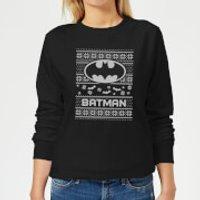 DC Batman Women's Christmas Sweatshirt - Black - XS - Black