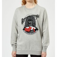 Star Wars Chewbacca Arrrrgh Socks Again Women's Christmas Sweatshirt - Grey - S - Grey