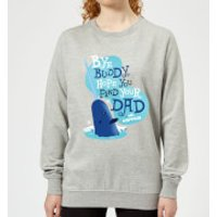 Elf Bye Buddy Women's Christmas Sweatshirt - Grey - XXL - Grey