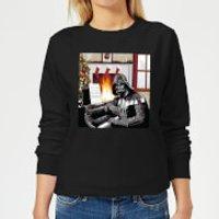 Star Wars Darth Vader Piano Player Women's Christmas Sweatshirt - Black - XS - Black