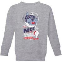 Looney Tunes Tweety Pie Pussy Cat Kids' Christmas Sweatshirt - Grey - 11-12 Years - Grey - Cat Gifts