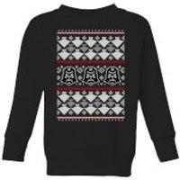 Star Wars Imperial Darth Vader Kids' Christmas Sweatshirt - Black - 11-12 Years - Black