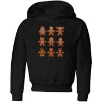 Star Wars Gingerbread Characters Kids' Christmas Hoodie - Black - 3-4 Years - Black