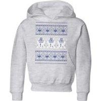 Star Wars R2-D2 Knit Kids' Christmas Hoodie - Grey - 3-4 Years - Grey