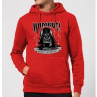 Star Wars Darth Vader Humbug Christmas Hoodie - Red - S - Red