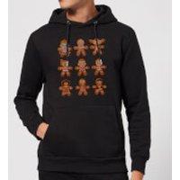 Star Wars Gingerbread Characters Christmas Hoodie - Black - XL - Black