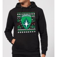 Guardians Of The Galaxy Badge Pattern Christmas Christmas Hoodie - Black - L - Black