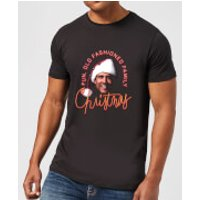 Image of National Lampoon Fun Old Fashioned Family Christmas Men's Christmas T-Shirt - Black - 4XL - Black