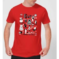 Elf Men's Christmas T-Shirt - Red - M - Red