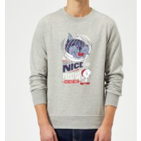 Looney Tunes Tweety Pie Pussy Cat Christmas Sweatshirt - Grey - S - Grey