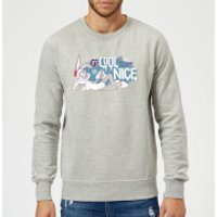 Looney Tunes Its Cool To Be Nice Christmas Sweatshirt - Grey - 5XL - Grey - Nice Gifts