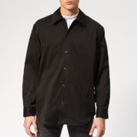 Acne Studios Men's Houston Oversized Shirt - Black - EU 50/L - Black