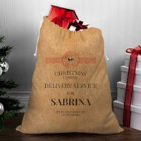Christmas Delivery Service for Girls Christmas Sack - Sabrina