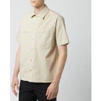 AMI Men's Chest Pocket Shirt - Beige - L - Beige