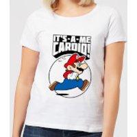 Nintendo Super Mario Cardio Women's T-Shirt - White - M - White