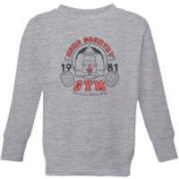 Nintendo Donkey Kong Gym Kid's Sweatshirt - Grey - 11-12 Years - Grey - Gym Gifts
