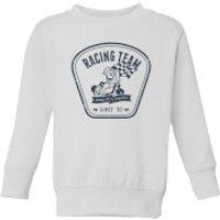 Nintendo Mario Kart Racing Team Kid's Sweatshirt - White - 7-8 Years - White