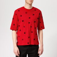 McQ Alexander McQueen Men's Mini Swallow T-Shirt - Cadillac Red - XS - Red