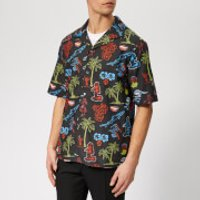 McQ Alexander McQueen Men's Billy Surfer Zombie Shirt - Darkest Black - M - Black