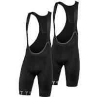 54 Degree Meso Bib Shorts - XXL - Black/Grey