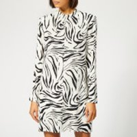 MSGM Women's Zebra Print Dress - Multi - IT 42/UK 10 - Multi