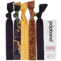 Popband London Glamping Hair Ties - Multi Pack
