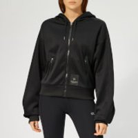 Calvin Klein Performance Women's Full Zip Run Hoody - CK Black - L - Black