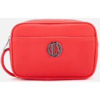 Armani Exchange Small Logo Cross Body Bag - Red