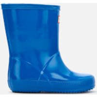 Hunter Toddler's First Classic Wellies - Bucket Blue - UK 11 Toddlers - Blue