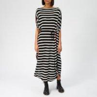 MM6 Maison Margiela Women's Stripe Dress - Black - XS - Black