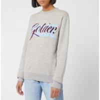 Golden Goose Deluxe Brand Women's Milly Sweatshirt - Melgrey/Golden Entwine - L - Grey