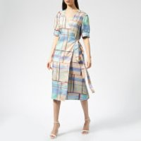 Gestuz Women's Ambina Dress - Multi Check - EU 36/UK 8 - Multi