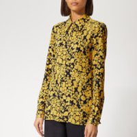 victoria-victoria-beckham-womens-fluid-shirt-midnightmustard-uk-10-blue