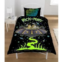 Rick & Morty Spaceship Duvet Set - Single - Multi - Bedding Gifts