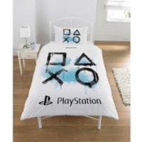 Sony Playstation Inkwash Duvet Set - Single - Multi - Sony Gifts