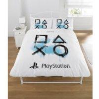 Sony Playstation Inkwash Duvet Set - Double - Multi