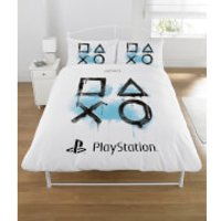 Sony Playstation Inkwash Duvet Set - Double - Multi