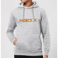 Summit Finish Merckx - Rider Name Hoodie - Grey - XXL - Grey
