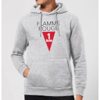 Summit Finish Flamme Rouge Hoodie - Grey - M - Grey