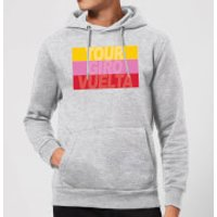 Summit Finish Grand Tour Stripes Hoodie - Grey - L - Grey