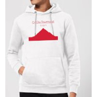 Summit Finish Col du Tourmalet Hoodie - White - L - White